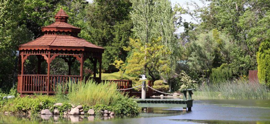 Садовая беседка - что выбрать и где поставить?