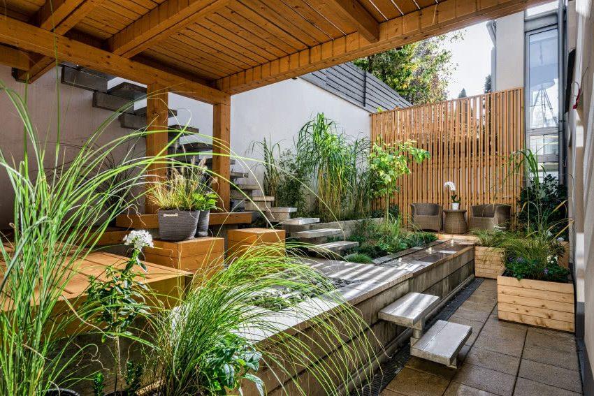 Садовая терраса