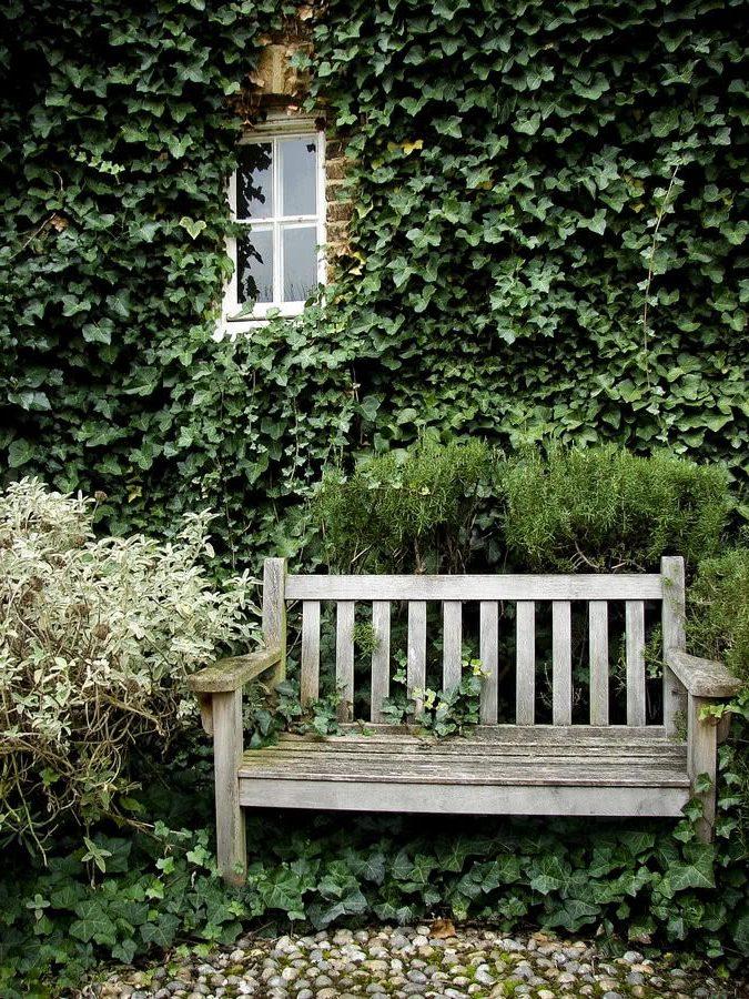Зеленые стены создают внутренний анклав, тихий уголок, где можно расслабиться вдали от шума и суеты внешнего мира.